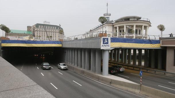 Темный тоннель на Почтовой площади