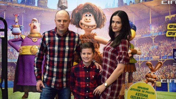 Виктор Вацко с семьей