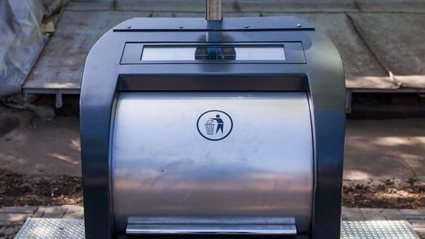 Подземные мусорники. В этом году в городе хотят установить 177 новых контейнеров. Фото: КГГА