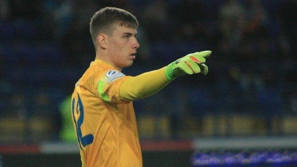 Андрей Лунин. Фото ua-football.com