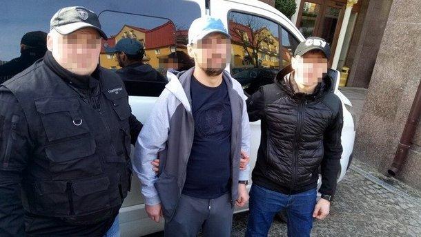 """Задержание """"Ираклия Хуту"""". Фото: ssu.gov.ua"""