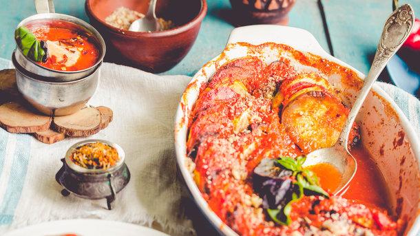 Рецепт рататуя в духовке