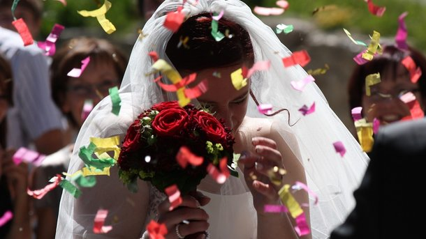 Необычная свадьба. Фото: pixabay