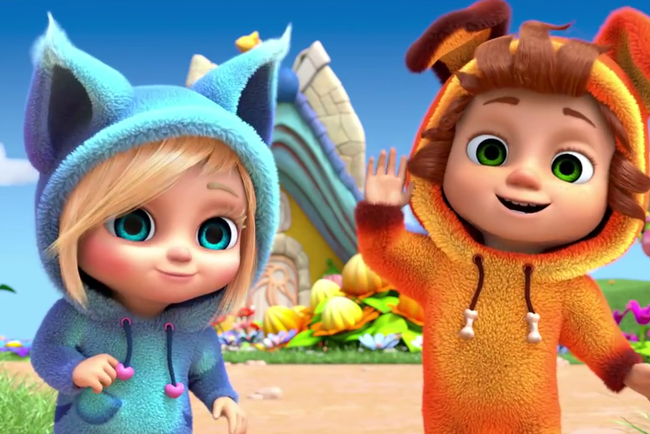 Кадр из мультфильма Dave and Ava