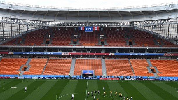 Стадион в Екатеринбурге. Фото AFP