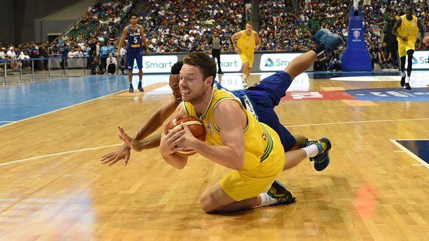 Матч Філіппіни - Австралія в баскетболі завершився бійкою. фото AFP