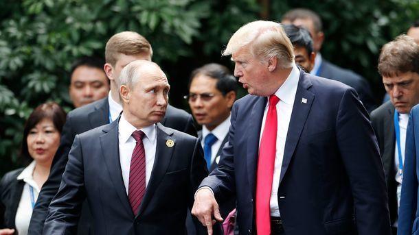 Путин и Трамп. Фото: AFP