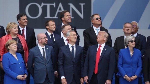 Североатлантический альянс демонстрирует единство, но лидеры смотрят в разные стороны. Фото: Twitter