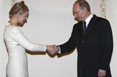 Юлия Тимошенко и Владимир Путин, фото gazeta2.ru