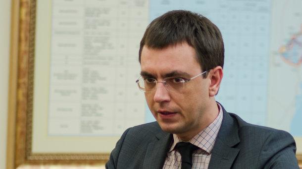 """Владимир Омелян. Фото: А. Лесык/""""Сегодня"""""""