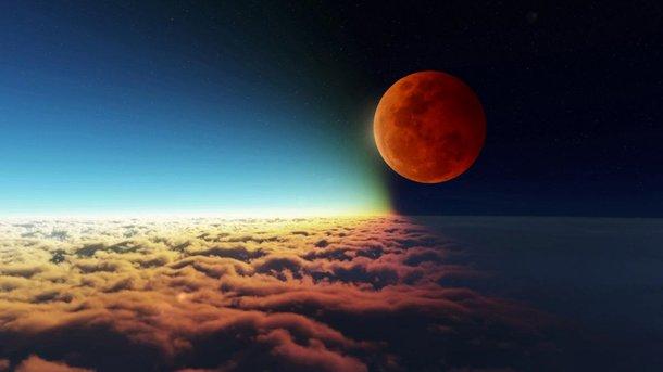 Місячне затемнення побачили з орбіти