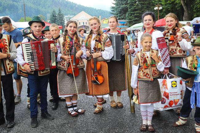 XXV Международный гуцульский фестиваль. Фото: пресс-служба