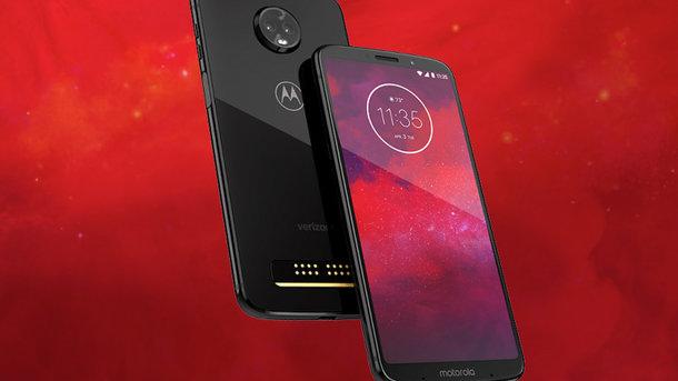 Motorola Moto Z3 получил съемный модуль 5G. Фото: Motorola