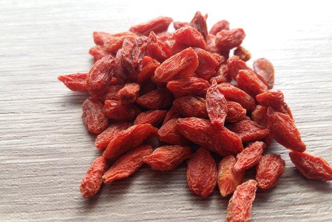 ягоды годжи сушеные сколько