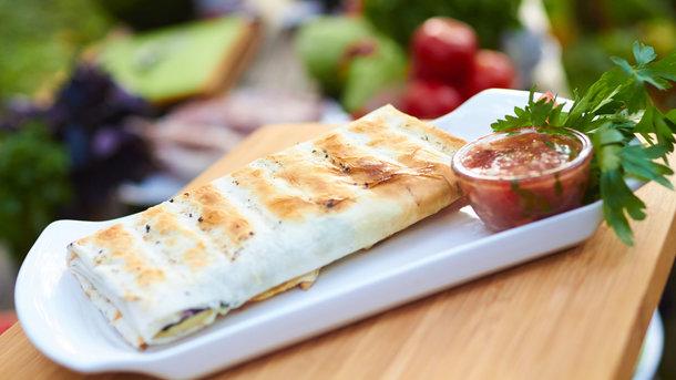 Хачапури на гриле с сыром