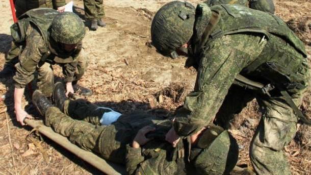 Боевики несут потери. Фото: facebook.com/mod.mil.rus