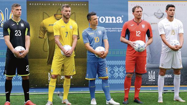 Novaya Forma Sbornoj Ukrainy Po Futbolu S Nadpisyu Slava Ukraine Futbol Segodnya