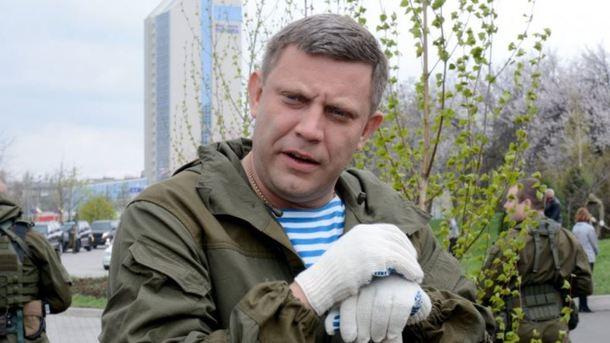 "Главарь ""ДНР"" Александр Захарченко. Фото из архива ""Сегодня"""