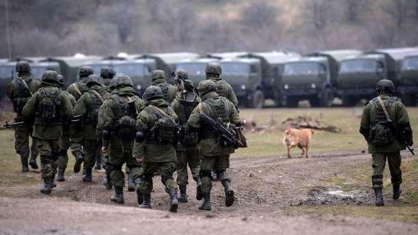 Российские военные. Фото: архив