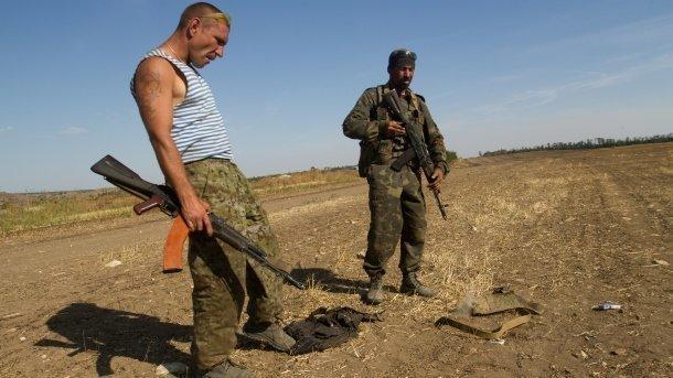 Бойовики на Донбасі. Фото: архів