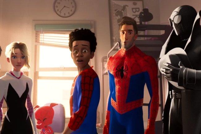 Человек-Паук Через вселенные - смотреть трейлер ...