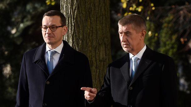 Моравецкий и Бабиш. Фото: AFP