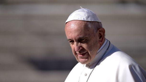 Папа Римский Франциск. Фото: AFP