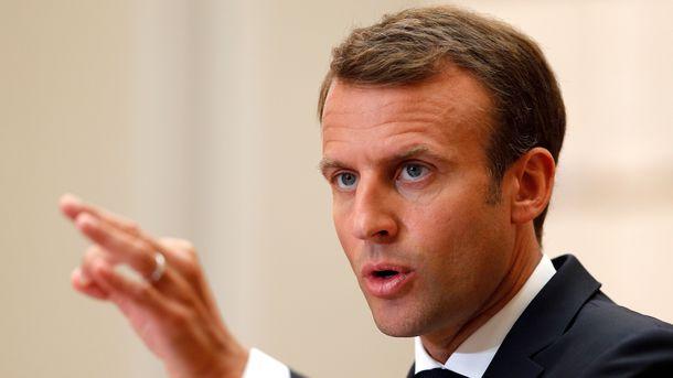 Эммануэль Макрон. Фото: AFP