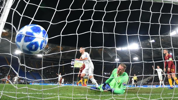 """Рома"" - ""Реал"" - 0:2. Фото AFP"