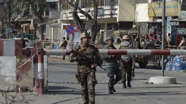 В Кабуле опять стрельба. Фото: AFP