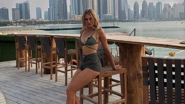 18-летняя теннисистка Даяна Ястремская. Фото Instagram