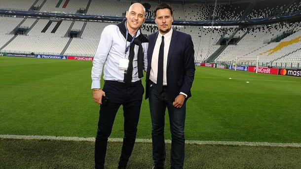Дарко Ковачевич (слева) в прошлом был очень грозным форвардом. Фото twitter.com/Adz77