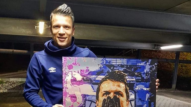 Евгений Коноплянка - самый популярный украинский футболист в соцсетях. Фото Instagram