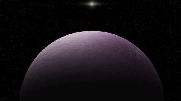 Farout находится на расстоянии в 180 млрд. километров от Земли. Фото: IFLScience