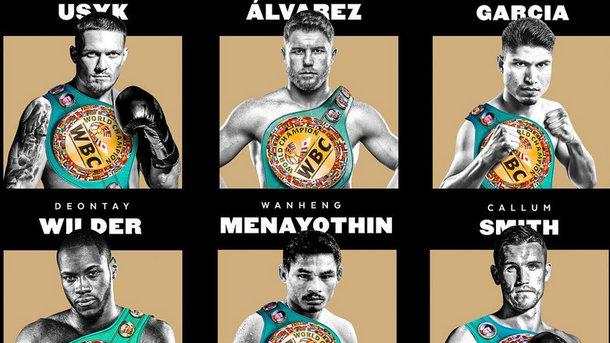 Александр Усик - первый среди номинантов. Фото WBC