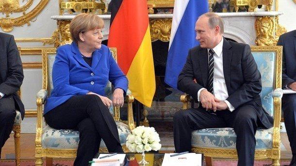 Меркель и Путин. Фото: kremlin.ru