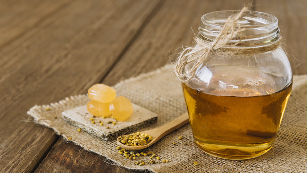 Держите мед в стеклянной таре