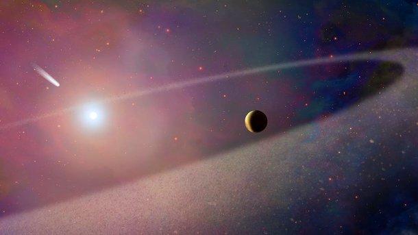 Жизнь на Землю могла быть занесена кометами с большей вероятностью. Фото: Inverse