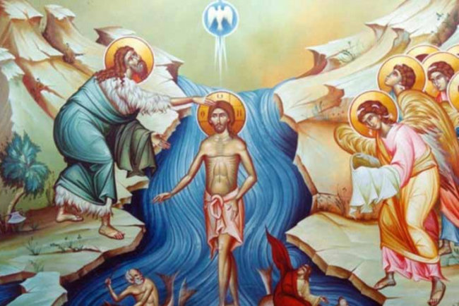 Крещение Господне. Фото из открытых источников
