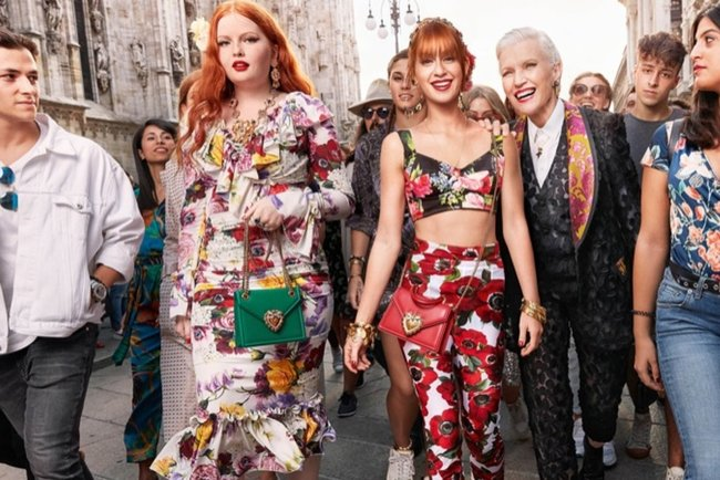 Рекламна кампанія Dolce & Gabbana весна-літо 2019