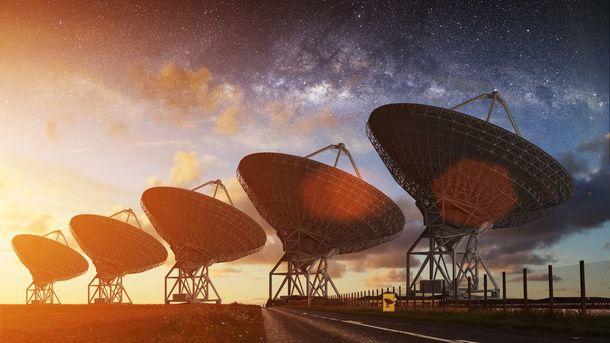 сигнал расположен в 1,6 миллиардов световых лет от Земли. Фото: NZ Herald