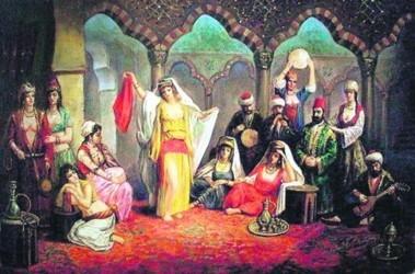 Гарем. У хана он был скромнее султанского, но тоже можно было отдохнуть