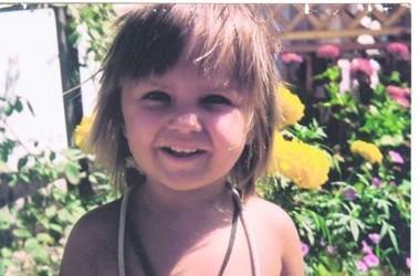 У малышки, которую укололи шприцом с ВИЧ,  температура. Фото из личного архива