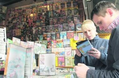 На рынке. В Украине можно купить любую базу данных, где есть вся информация обо всех гражданах страны. Фото А. Яремчука