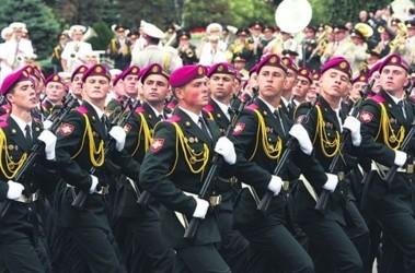 Элита армии. В президентском полку нашли «паршивых овец». Фото: С. Николаев