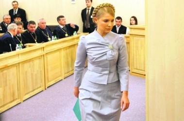 Ушла ни с чем. Регионалы уверены: Тимошенко сдалась. А в БЮТ назвали суд фарсом. Фото AFP