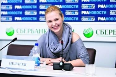 Пелагея призналась, что Украина для нее — гастрономический рай. Фото С. Николаев