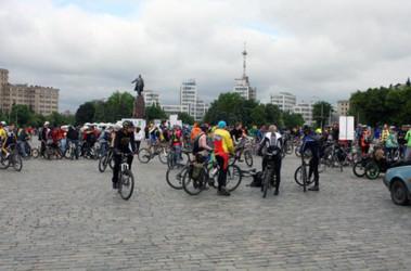 Велодень в Харькове, источник фото - Интернет