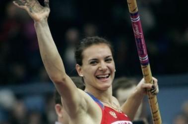Елена Исинбаева. Фото АР