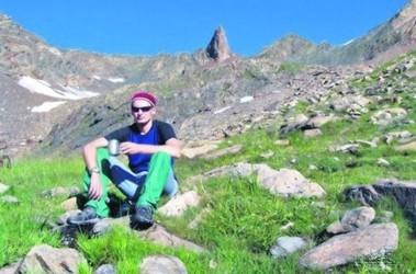 Никита Овсиенко пропал в Альпах. Фото из его личного архива